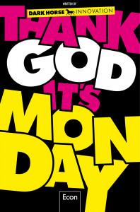 Graphisches Buchcover Thank God it's Monday