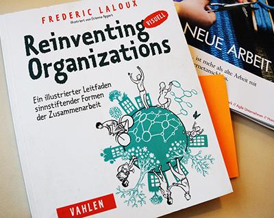 Photo des Buchcovers Reinventing Organizations