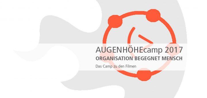 Graphisches Logo des Augenhöhe Camps 2017