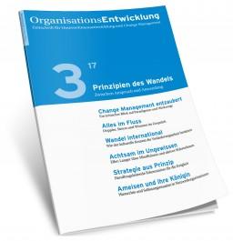 Graphik einer Ausagbe der Zeitschrift Organisationsentwicklung