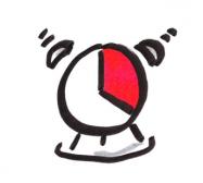 Icon von einem Wecker