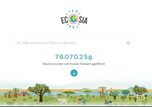 Foto von Ecosia