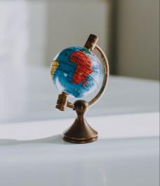 Foto von einem kleinen Globus