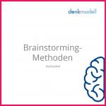 """Foto von einem denkzettel """"Brainstorming Methoden"""""""