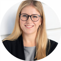 Foto von Franziska Sophie Frank, Junior Managerin Unternehmenskommunikation