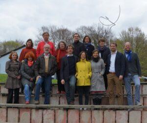 Foto vom denkmodell-Team auf den Teamtagen.