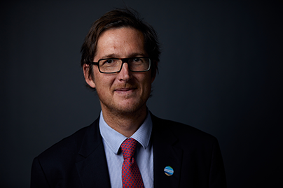 Foto von Markus Knigge, Executive Director Blue Action Fund