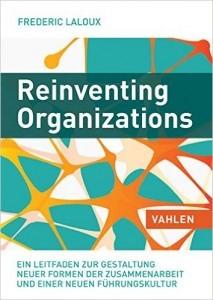 Graphisches Buchcover Reinventing Organizations