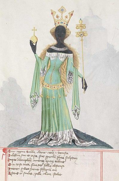 Abbild der Königin von Saba.