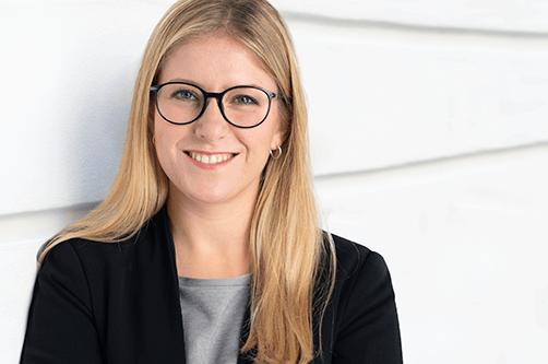 foto von Franziska Sophie Frank, Junior Managerin Unternehmenskommunikation bei denkmodell